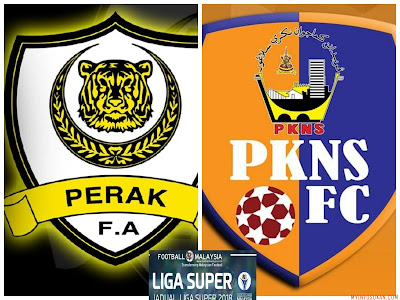Live Streaming Perak vs PKNS FC Liga Super 10 Februari 2018