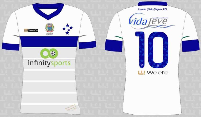 4a64d5fc4bd3c Weefe apresenta as novas camisas do Cruzeiro de Porto Alegre - Show ...