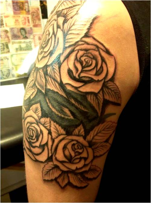 Trend Tattoo Styles: Rose Tattoo, ideas and designs