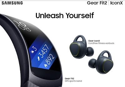 Achieve Your Fitness Goals With Samsung's Gear Fit2 and Gear Icon X