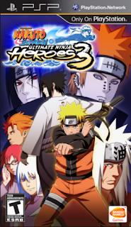 Naruto Shippuden: Ultimate Ninja Heroes 3 PSP ISO