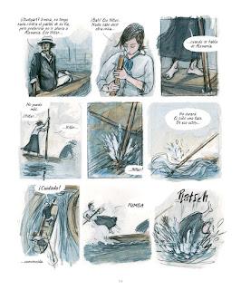 Barbara Yelin presentará en el 37 Comic Barcelona su nueva novela gráfica.