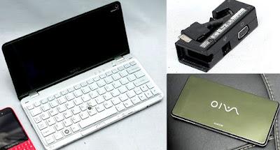 Laptop Saku Sony Vaio VGN P530H Bekas