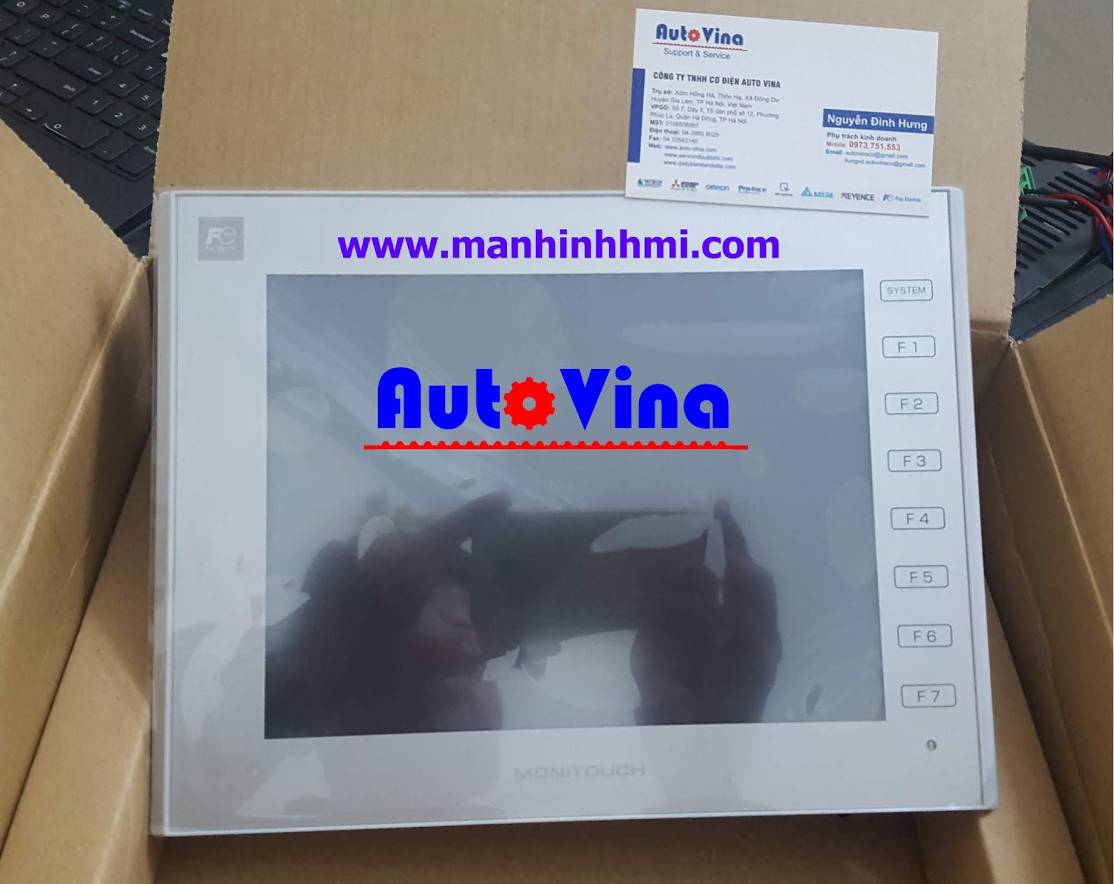 Đại lý bán màn hình cảm ứng HMI Fuji Hakko V9080iCD