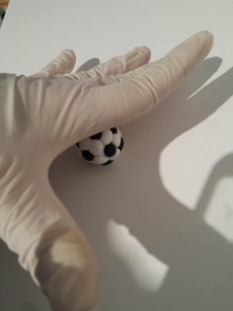 tutorial pallone da calcio fimo alberta bijoux