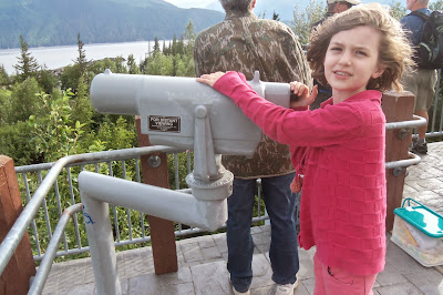 family travel in Alaska