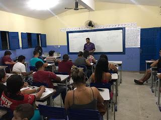 Gratidão a Deus é desta forma que Tiago do Mutirão descreve inicio de curso preparatorio para concurso da CMG