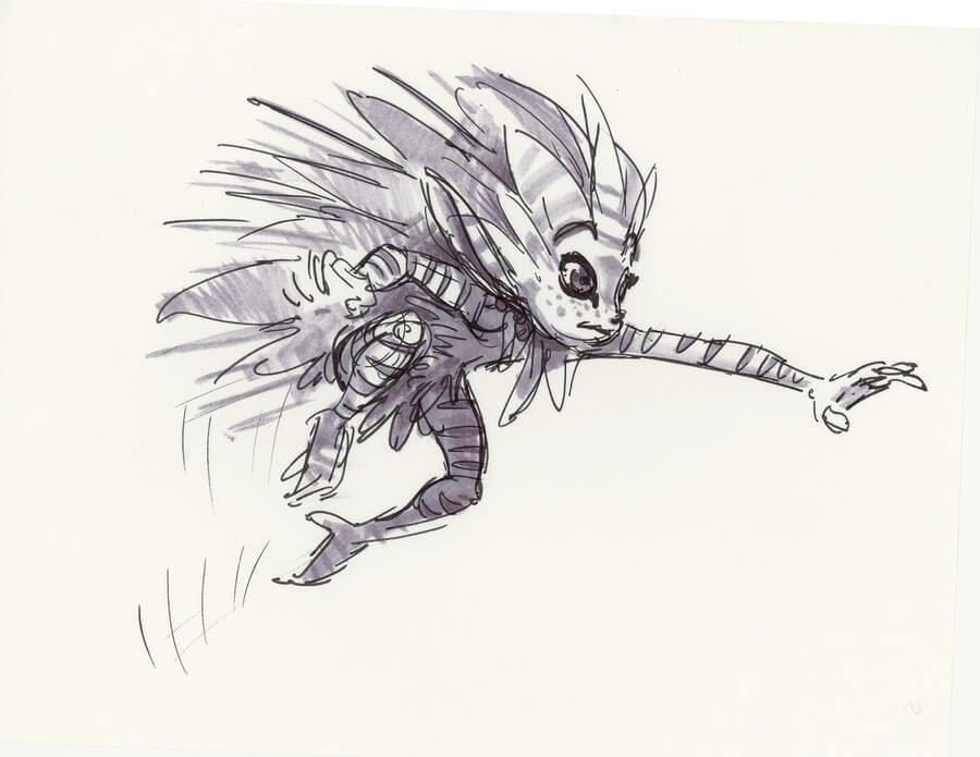 09-Aaron-Blaise-Creature-Sketches-www-designstack-co