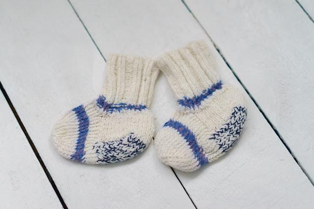 шерстяные носки для ребенка