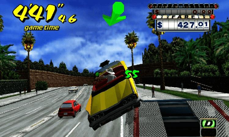 تحميل لعبة Crazy Taxi للكمبيوتر