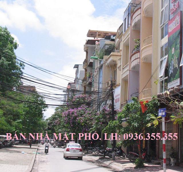Bán nhà mặt phố Vũ Ngọc Phan, Láng Hạ