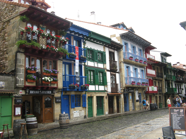 Hondarribia, part baixa