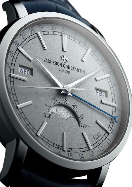 Vacheron Constantin Traditionnelle Calendario Completo dial