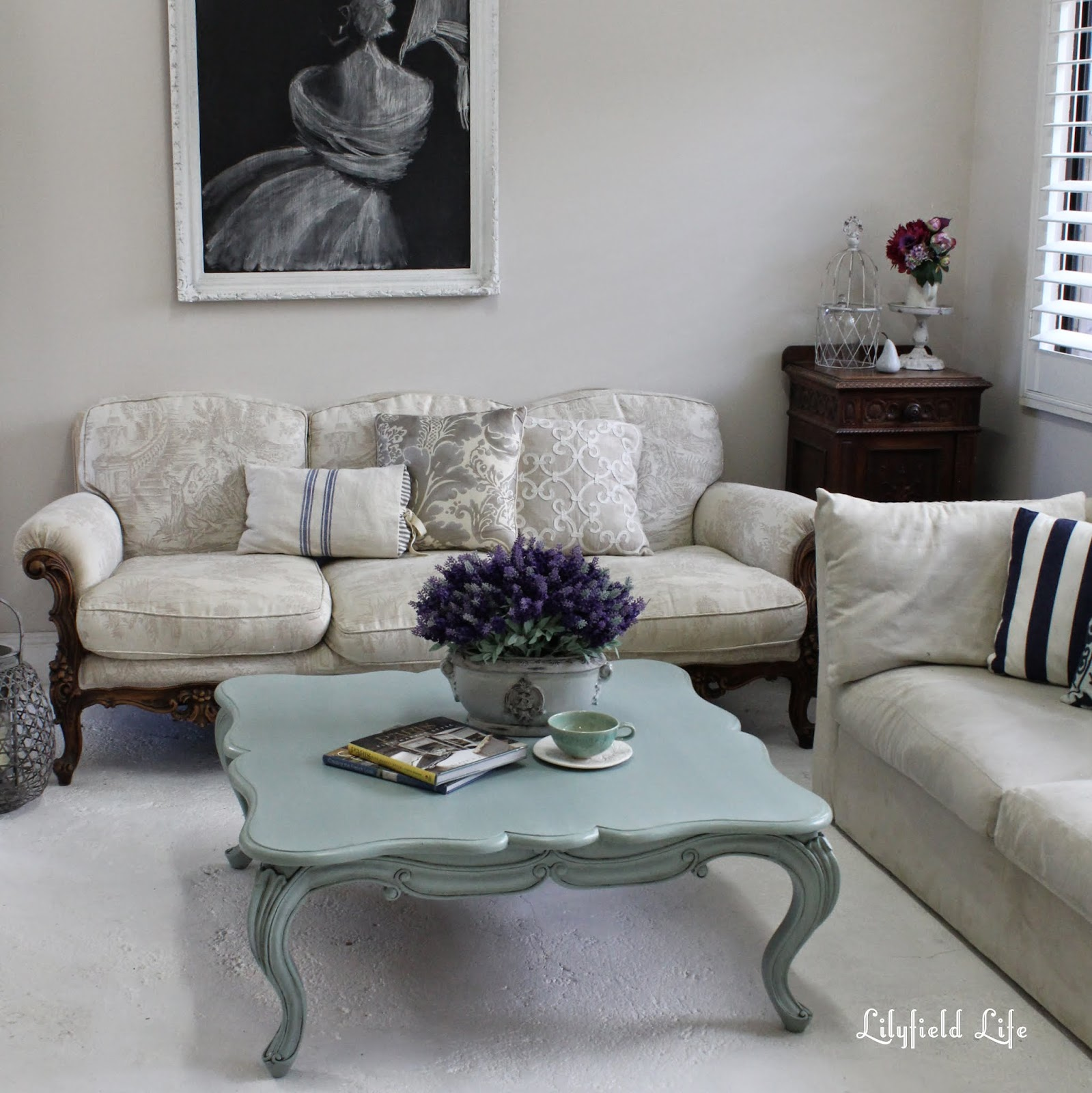 Lilyfield Life Duck Egg Blue Coffee Table