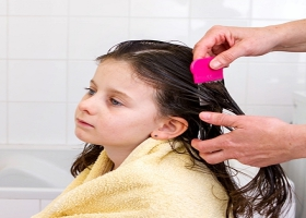 Hair treatment for lice.