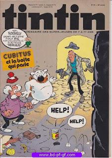 Tintin-numéro 20, année 38, 1983, Cubitus