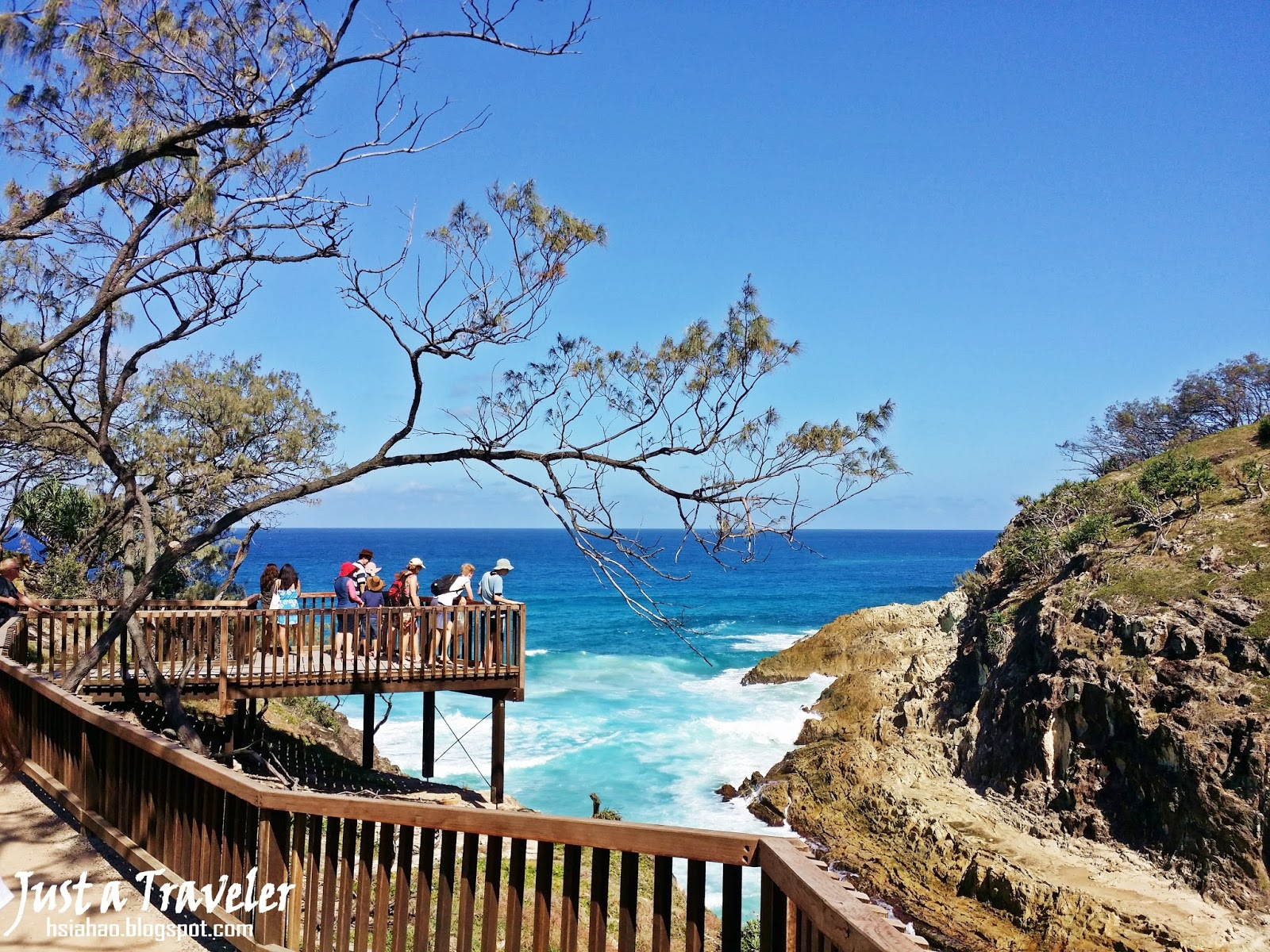 布里斯本-景點-推薦-北斯德布魯克島-旅遊-自由行-Brisbane-Attraction-North-Stradbroke-Island--Gorge-Point-LookoutTourist-destination
