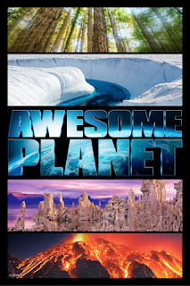 Epcot Awesome Planet Poster