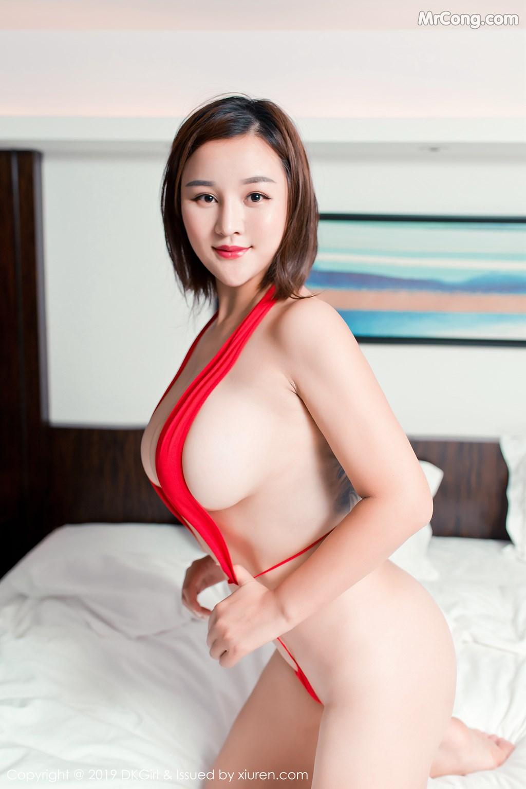 Image DKGirl-Vol.116-ber-MrCong.com-001 in post DKGirl Vol.116: 潘琳琳ber (44 ảnh)