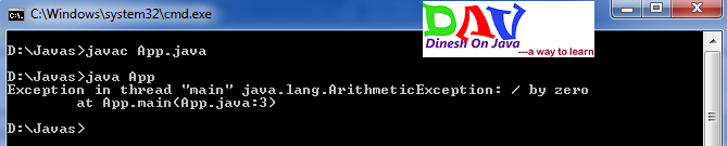 try & catch block and Handling Exceptions
