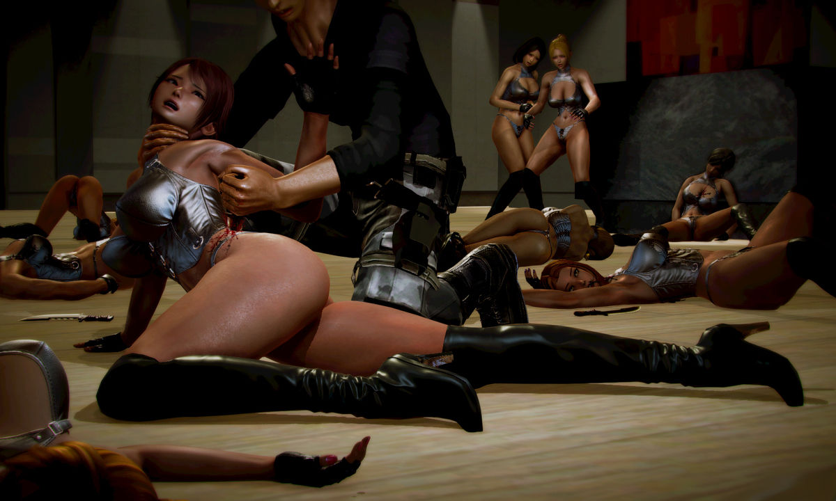 Hình ảnh 043 in Truyện Hentai 3D Nữ chiến binh Ryona