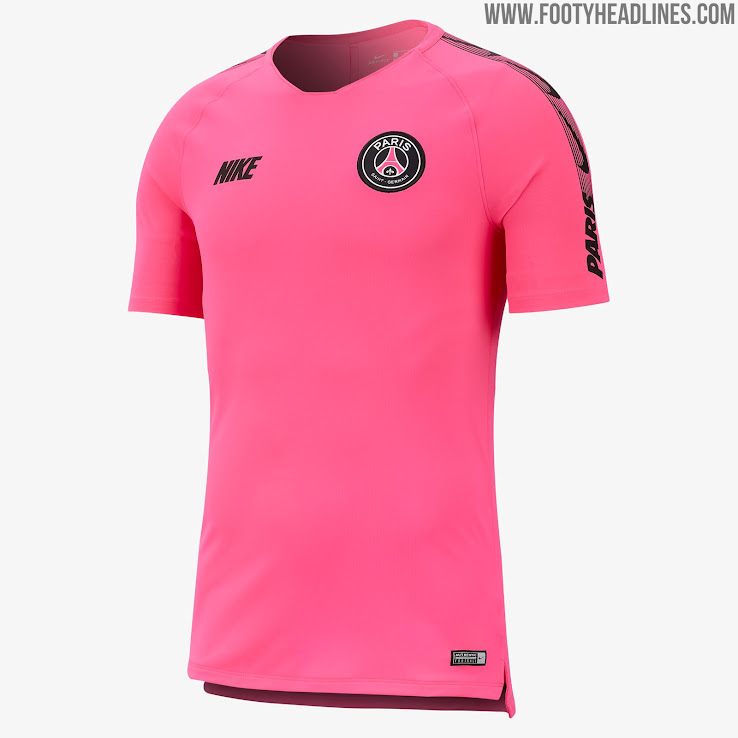 pink psg 2019 training kit released
