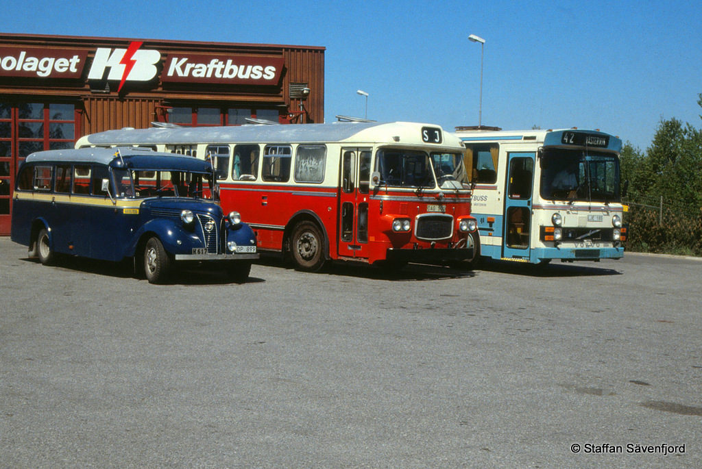 Staffans bussbilder v stervik i maj 1988 del 1 for 2 1 2 metratura del garage