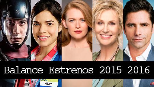 Balance Estrenos Temporada 2015-2016