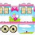 Peppa Pig Fairy: Princess Carriage Shaped Free Printable Box.