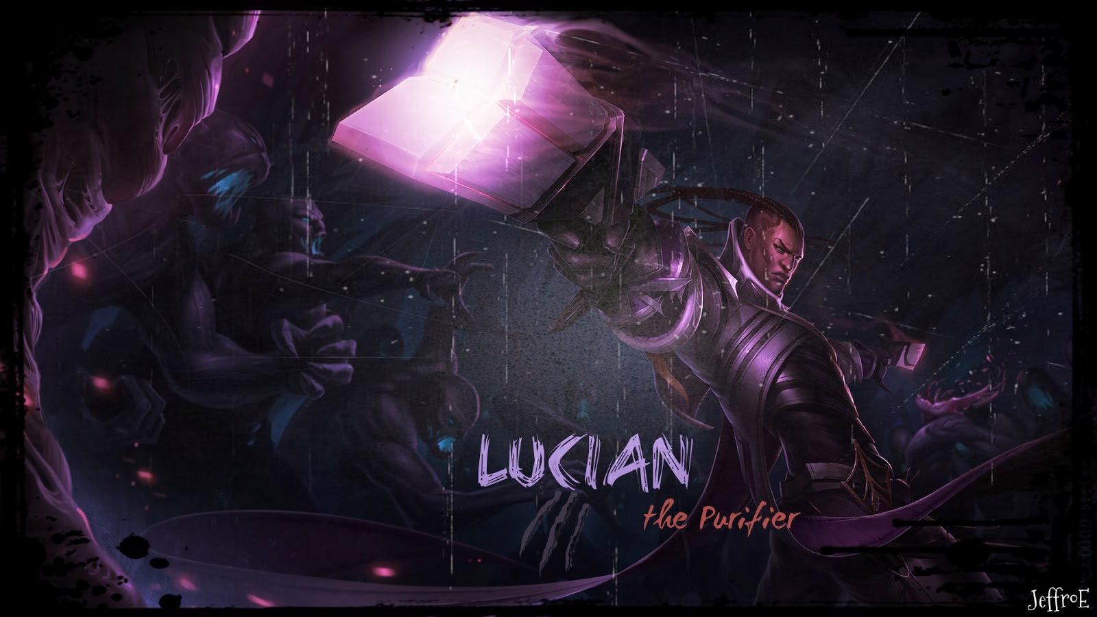 Lucian League of Legends Wallpaper, Lucian Desktop Wallpaper