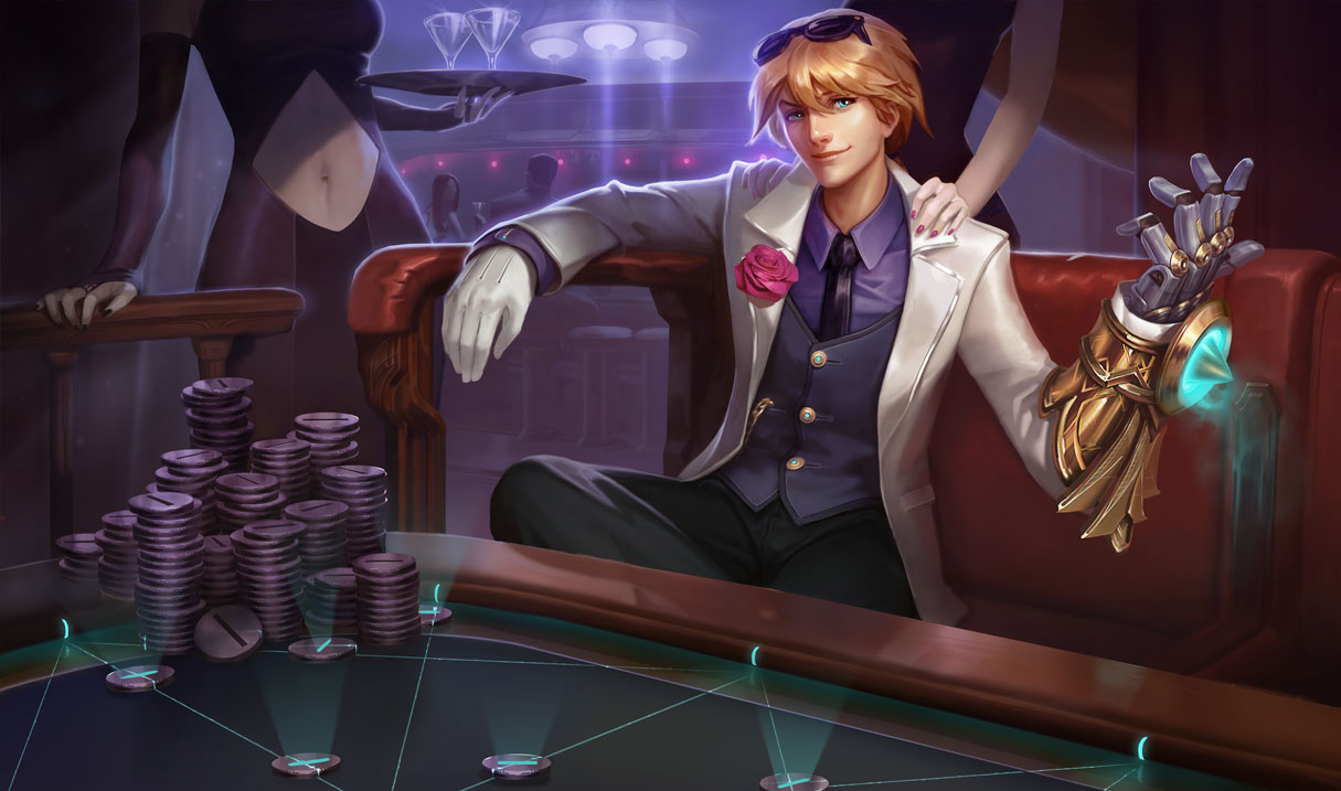 The Ezreal Splash Update Collection