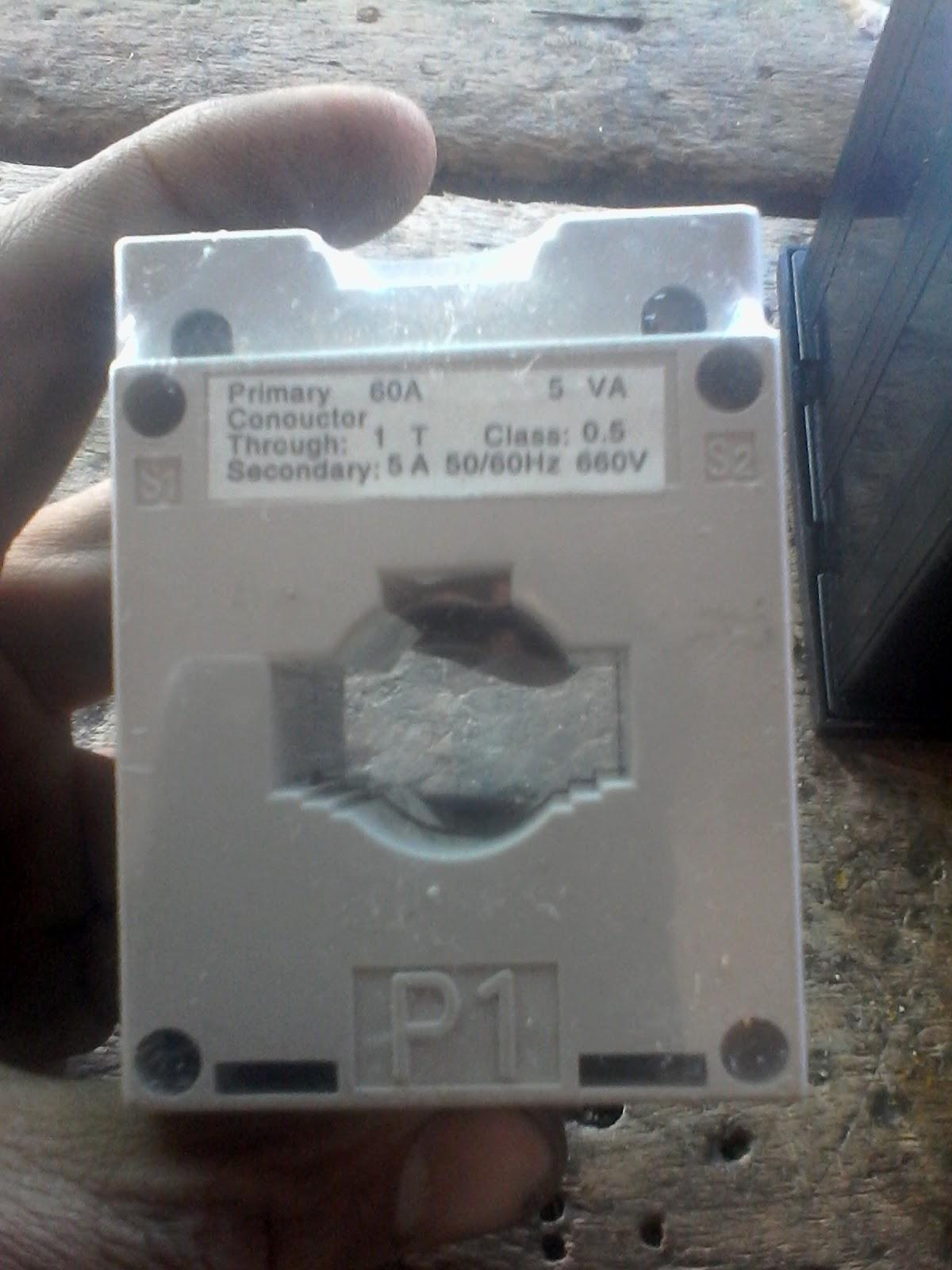 Digital Multi Voltmeter Ammeter Hz Wiring With Diagram | Electrical Online 4u