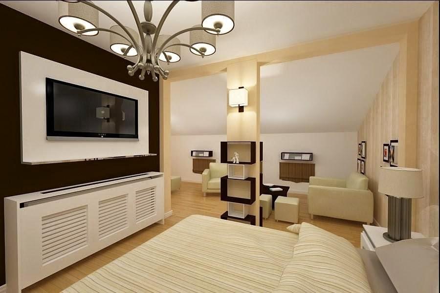 Design interior dormitor casa Constanta - Design Interior / Amenajari interioare | Design interior dormitor mansarda Constanta