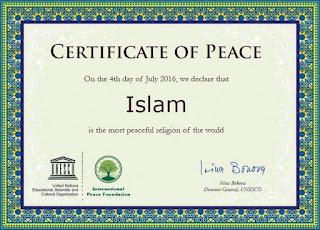 Santun Berislam Kunci Kedamaian