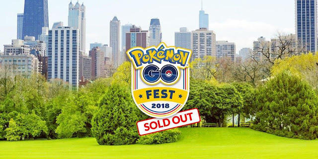 Pokémon GO Fest Tickets Sold Out After Website Problems