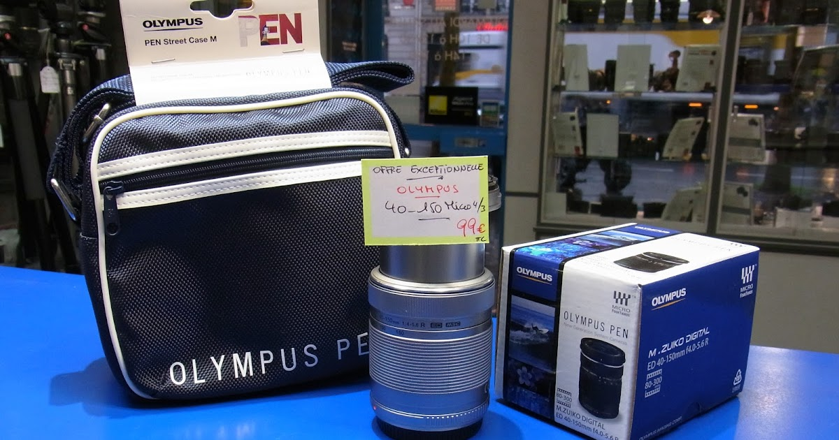 5901571b3b585f PHOTOBLOGUE  L Olympus 40-150 mm R à 49 euros neuf !