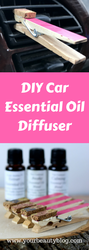 DIY Essential Oil Diffuser for the Car