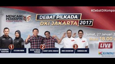 Mengupas Style dan Gaya Komunikasi Debat Kandidat Cagub DKI 2017