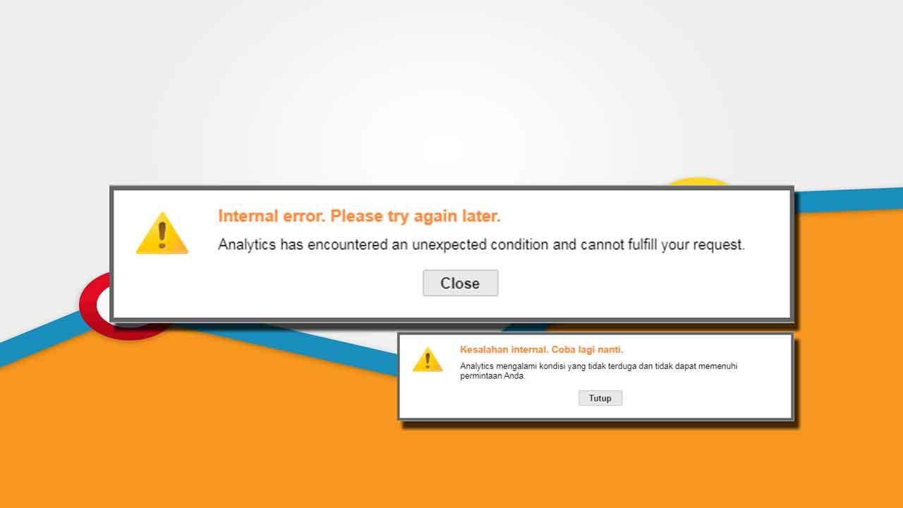 Cara Mengatasi Google Analytics Error