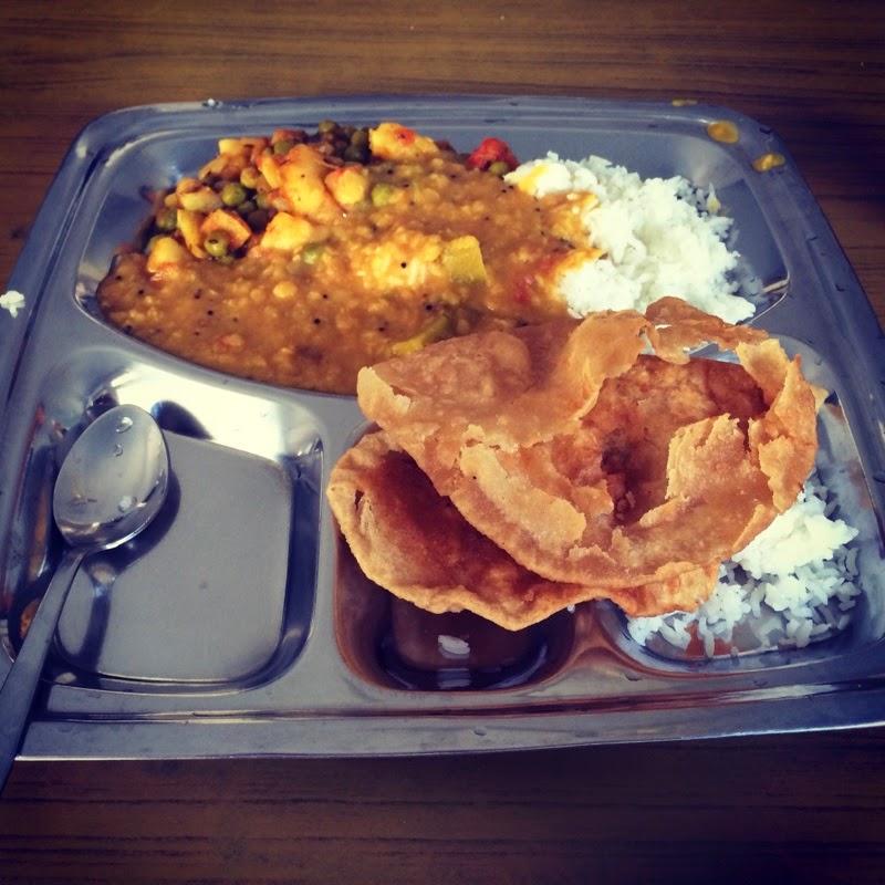 Lunch at Swami Dayananda Ashram