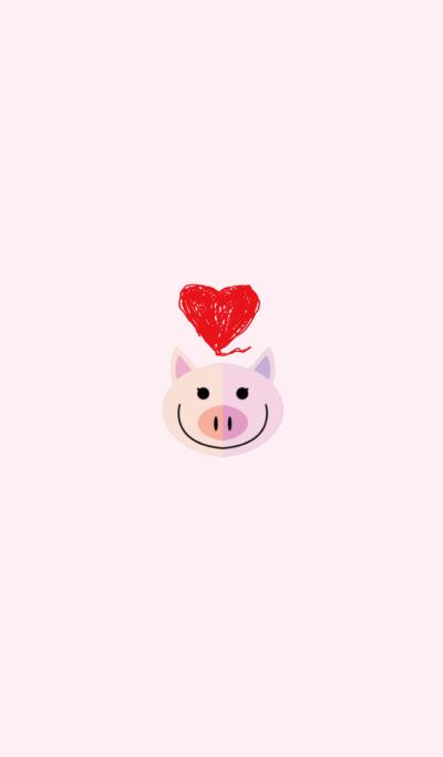 Cute Simple Pig