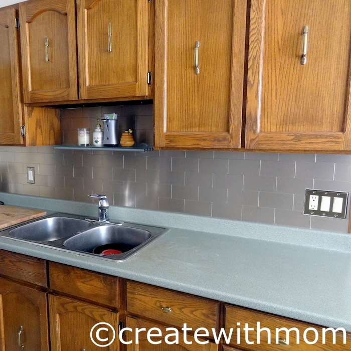 Create With Mom: Our Kitchen Renovation DIY Project Using