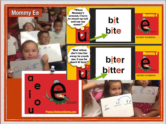 Secret Stories® Phonics— Mommy E® and Babysitter Vowels®  (silent E- VCV & VCCV)
