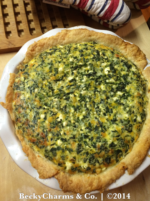 Organic Spinach Pie by BeckyCharms