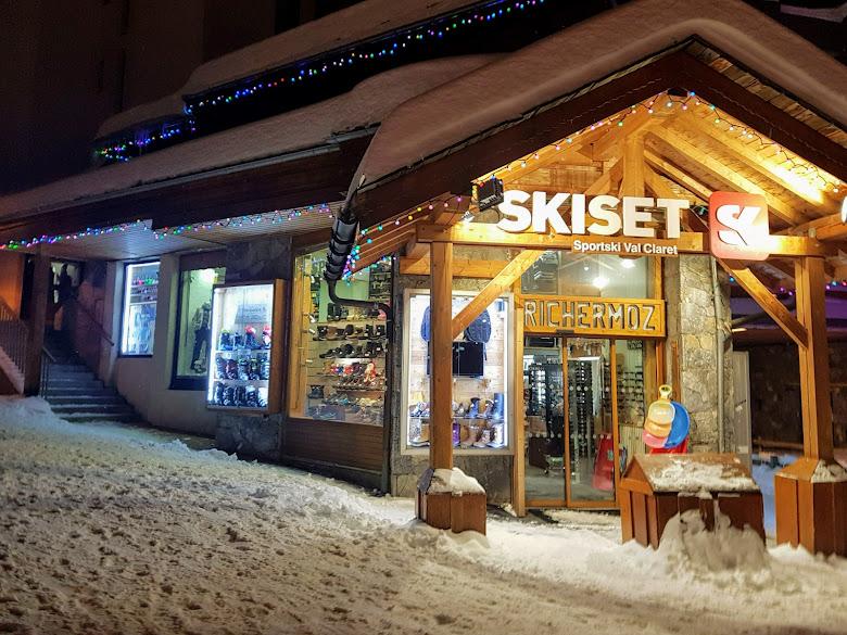滑雪裝備出租店,沒有特別詢問服裝是否有能出租