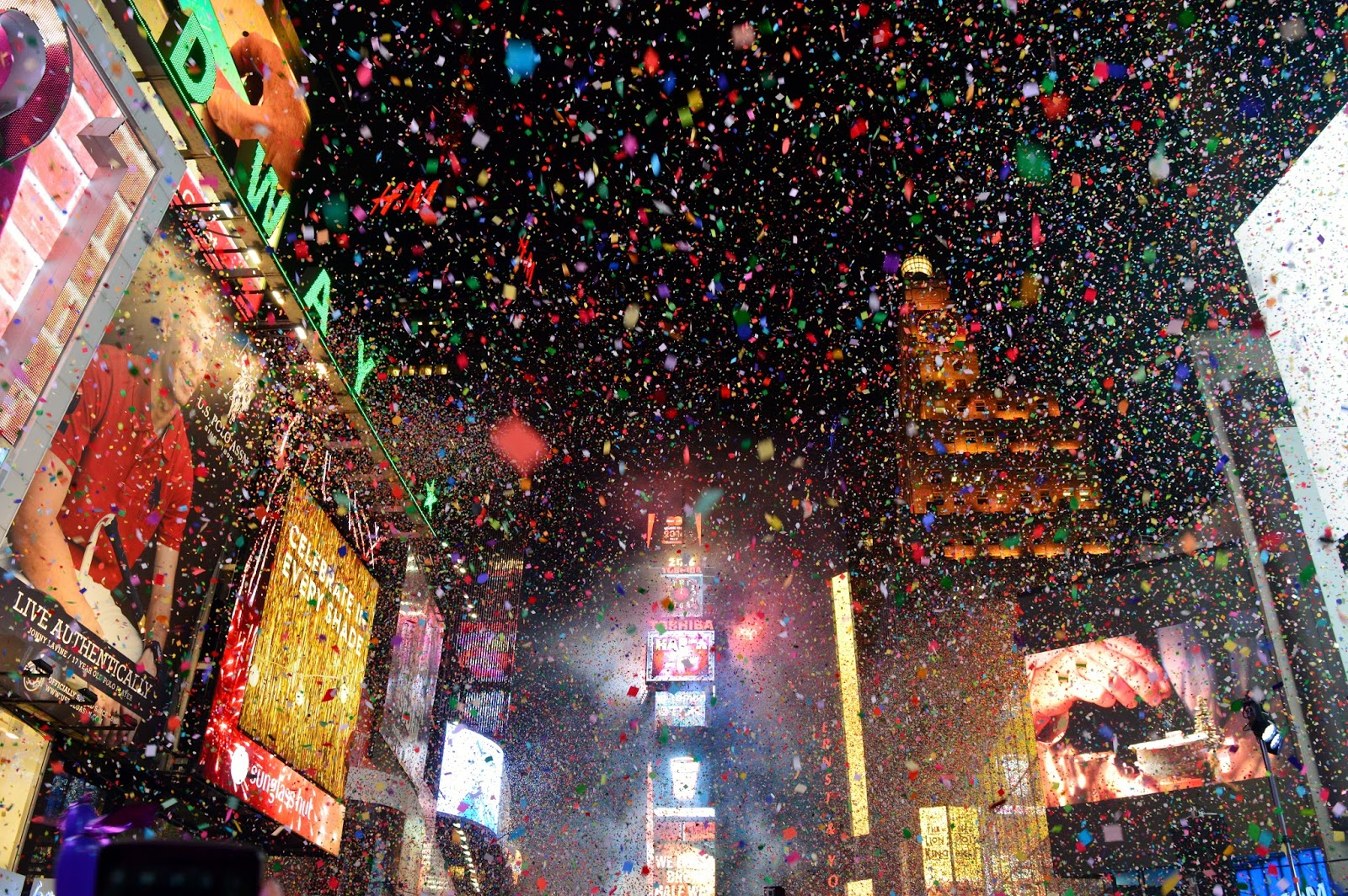 New York Time Square New Year Countdown 2016   Eva Wen s Blog New York Time Square New Year Countdown 2016
