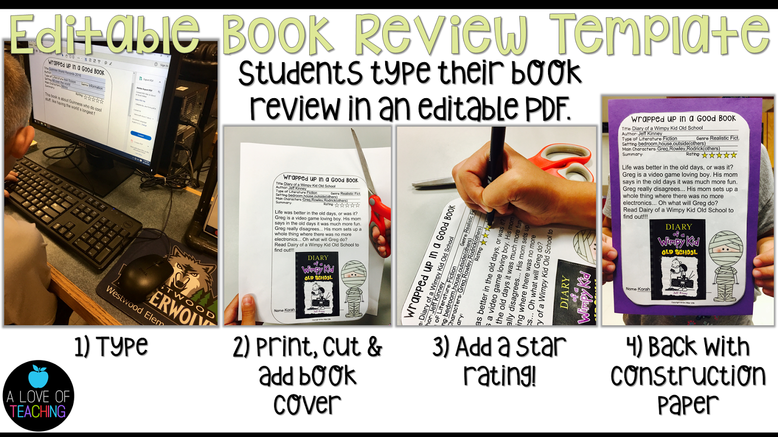 A Halloween Themed Book Review Cinnamon S Classroom
