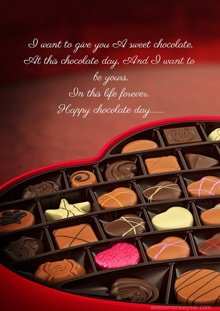 Happy Chocolate Day Quotes for boyfriend