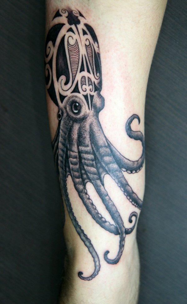 tatuagem polvo