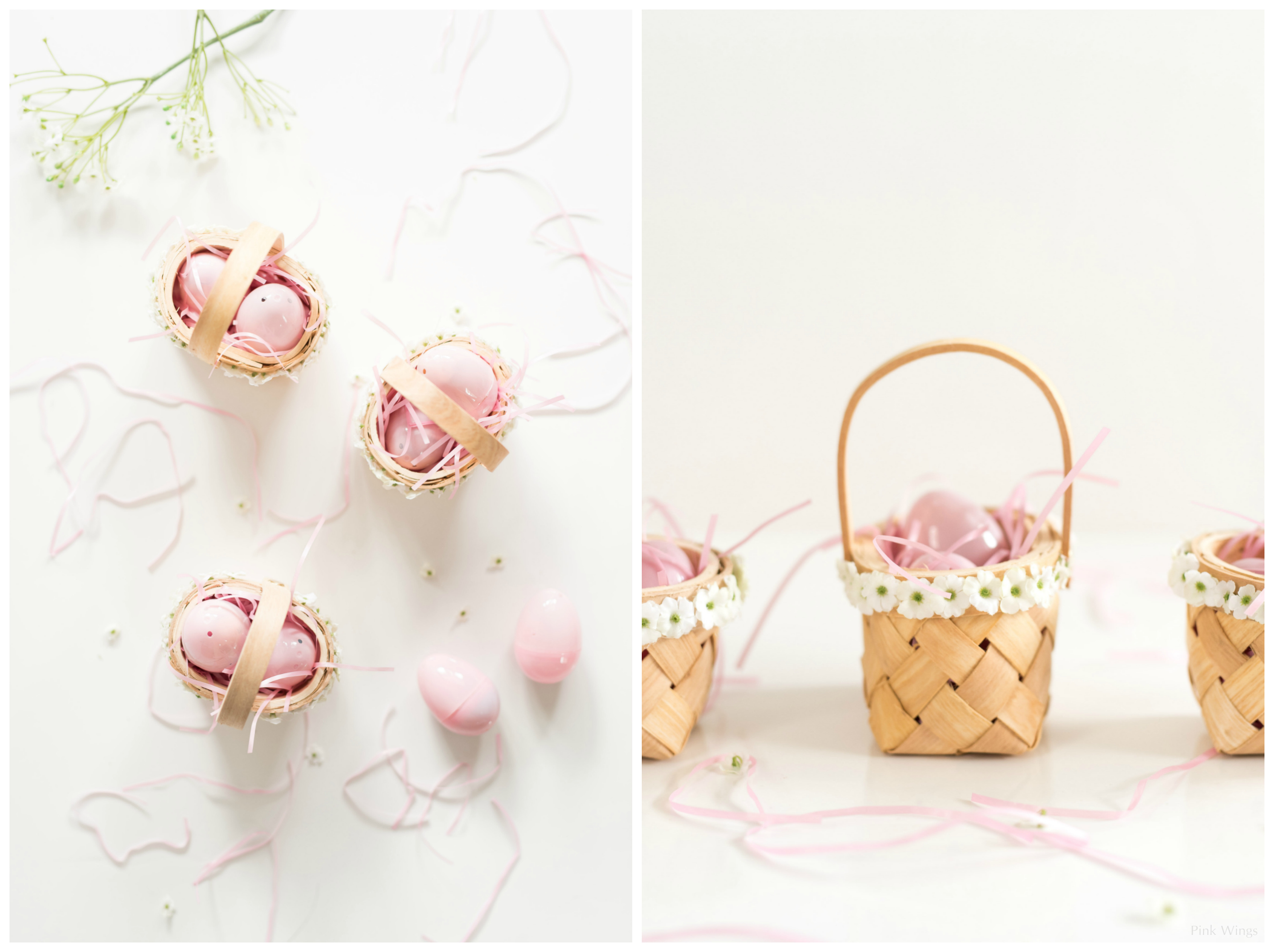 Easter Surprise Cookies Mini Flower Baskets